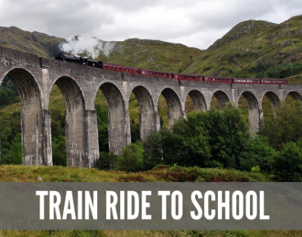 Back to School Part 1 – Train Ride To School