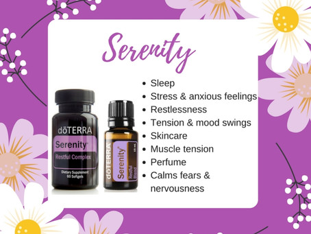 Hot Humid Sleepless  Nights – Try Serenity Blend
