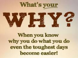 What's your plan & your why?