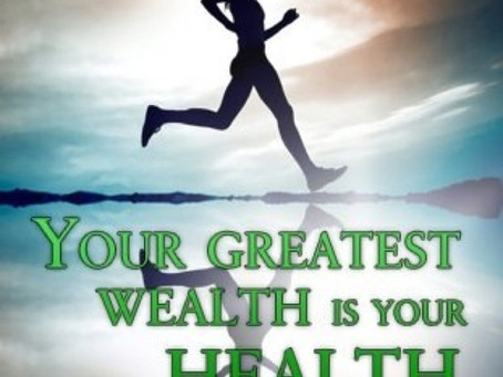 My Story -Health over Wealth anytime for me