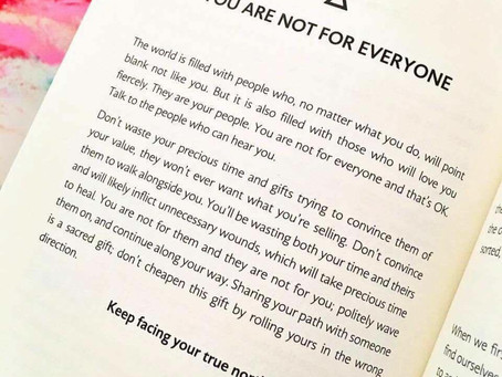 Your not for everyone!!!