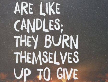 Don't Burn……… Shine