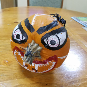 Paint ON a Pumpkin