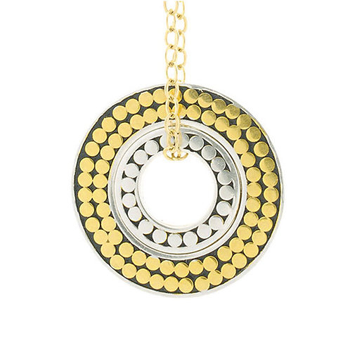 Double Life Circle Necklace (Small)
