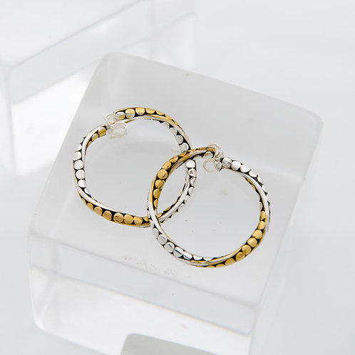 Life's Twists & Turns Hoop Earrings (Small)