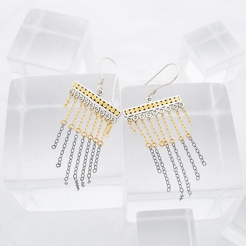 Double Life Chandelier Earrings (Medium)