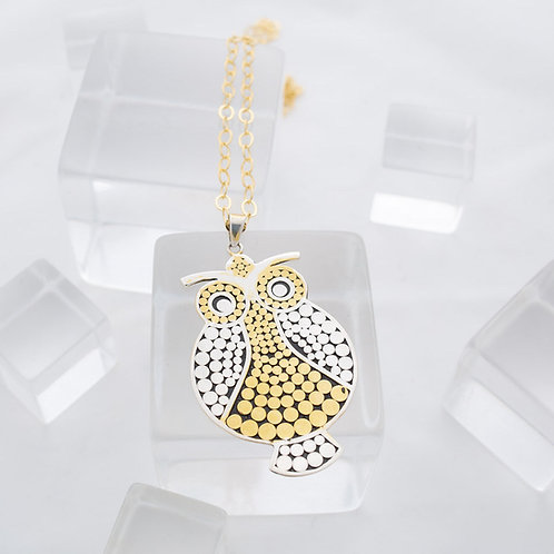 Wild Care Owl Necklace