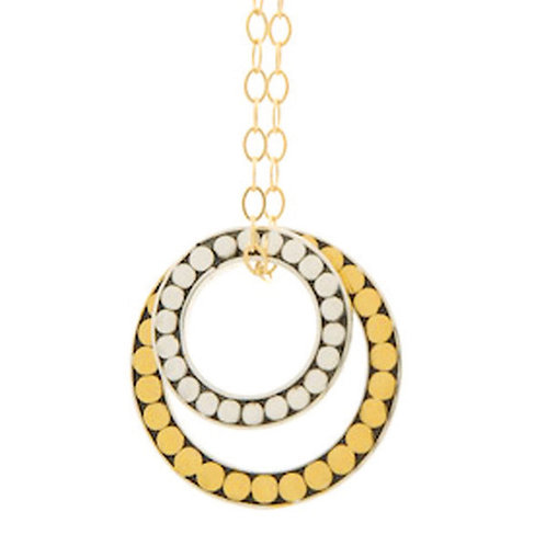 Large Dot Double Life Necklace (Large)