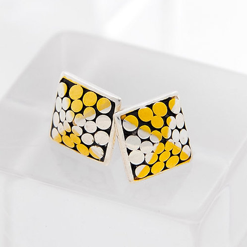 Reach For The Top Square Post Earrings