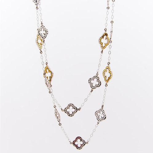 A Little Bit of Luck Chain Necklace (Long)