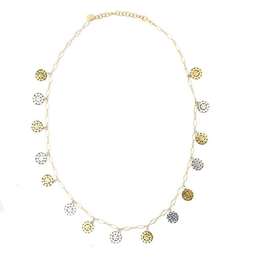 Be A Light Multi Disc Necklace