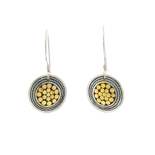 Be A Light French Wrap Disc Earring (Small)