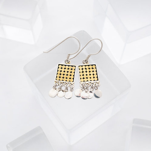 Be A Light Square Chandelier Earrings