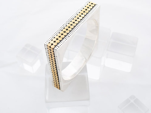 Double Life Square Bangle