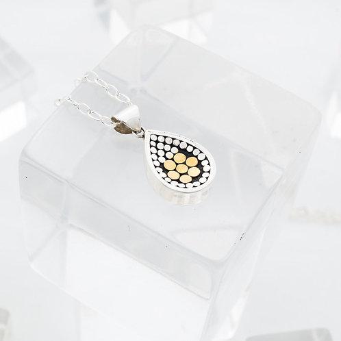 Be A Light Flower Concave Necklace