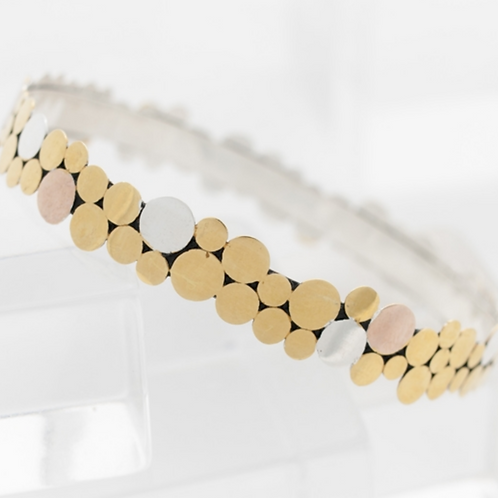 Floating Dot Bangle