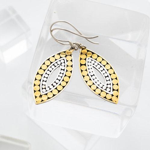 Double Life Leaf Earrings