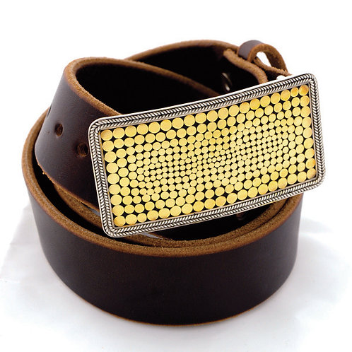 Be A Light French Wrap Rectangle Buckle
