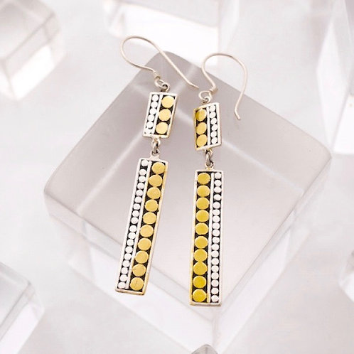 Double Life Stick Earrings