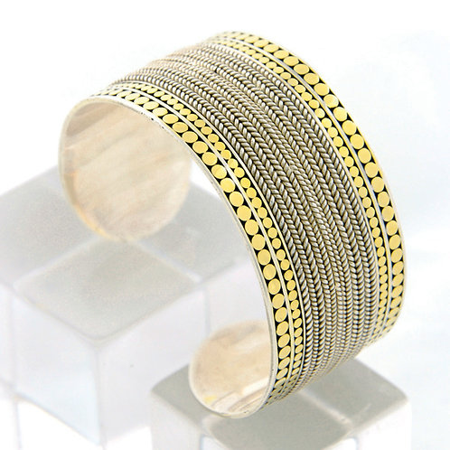 Be A Light French Wrap Cuff