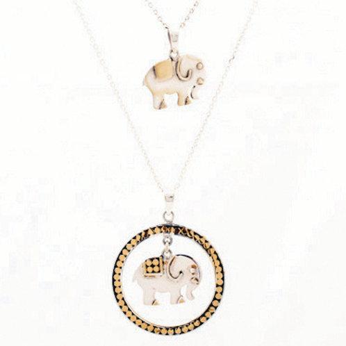 Elephant Pendant (top image)