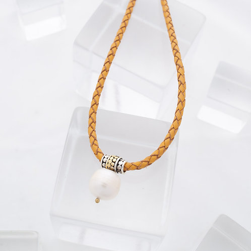 Be A Light Large Pearl Necklace