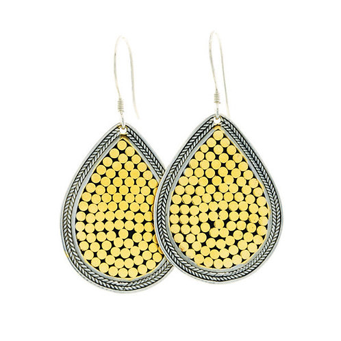 Be A Light French Wrap Earrings (Large)