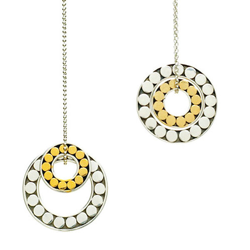 Large Dot Double Life Necklace (Small)