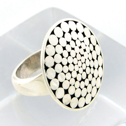Be A Light Circle Ring