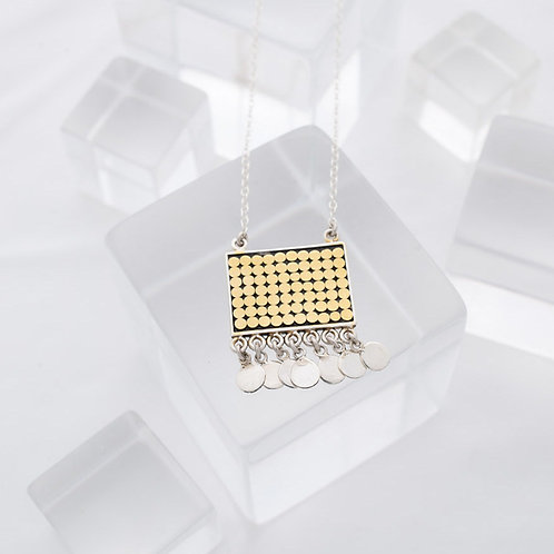 Be A Light Square Chandelier Necklace