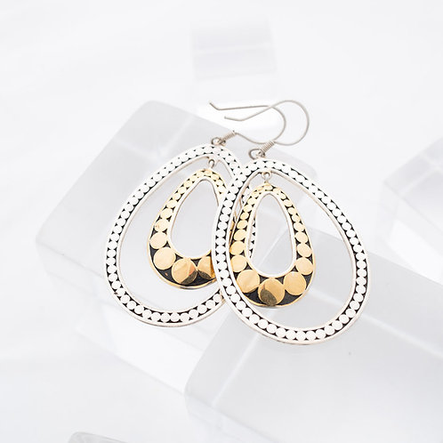 Double Life Variegated Earrings (Large)