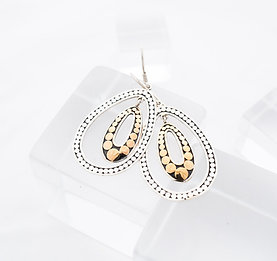 Double Life Variegated Earrings (Medium)
