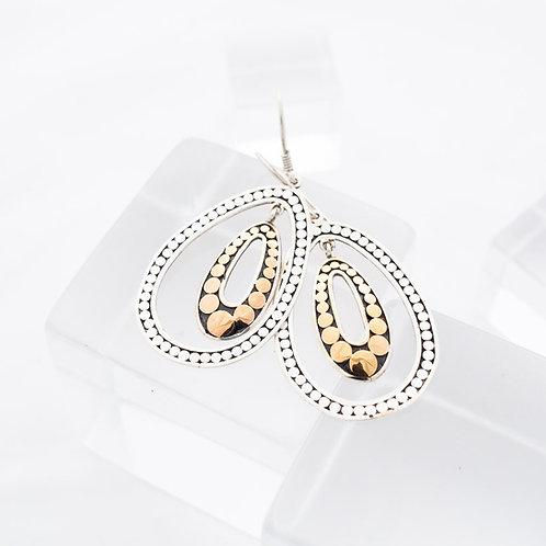 Double Life Variegated Earrings (Medium)