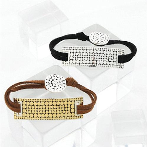Be A Light Leather Bracelet