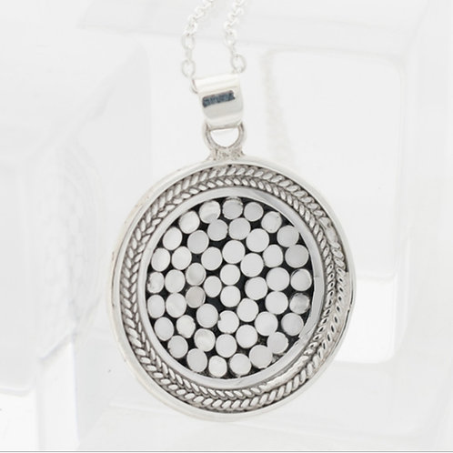 Be A Light French Wrap Concave Pendant