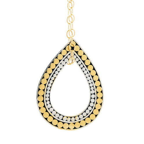 Teardrop Pendant Necklace