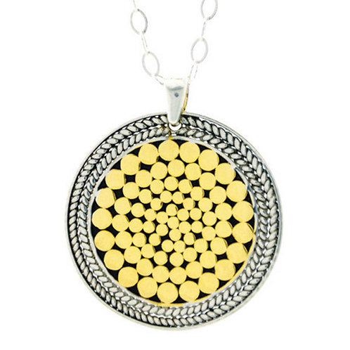 Be A Light French Wrap Pendant (Large)