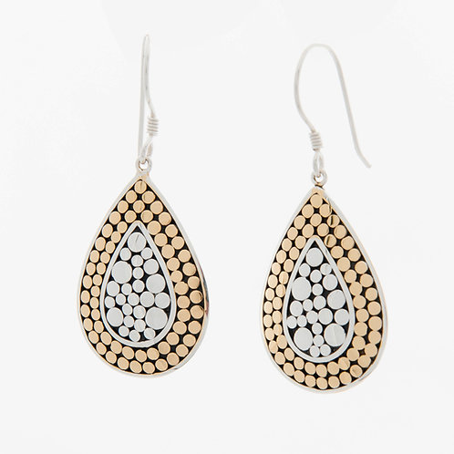 It's What's On The Inside Teardrop Earrings (Small)