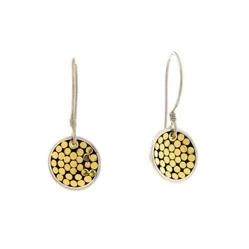Be A Light Concave Disc Earrings (Mini)