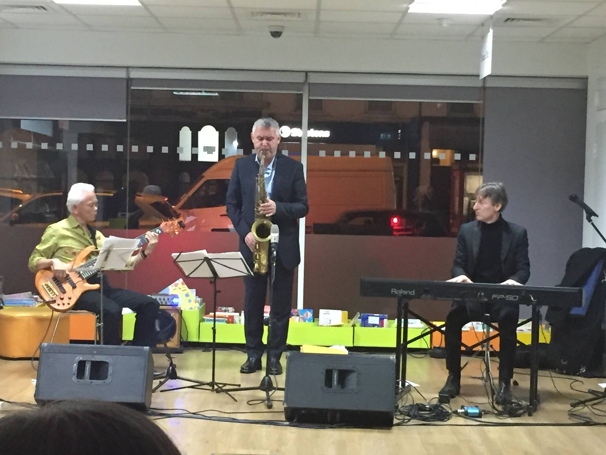 Timepiece jazz Trio @Manor Park Library