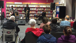 Timepiece Jazz Trio Plays Beckton Golbe Library