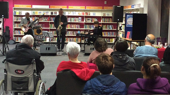 Timepiece Jazz Trio Plays Beckton Golbe Library