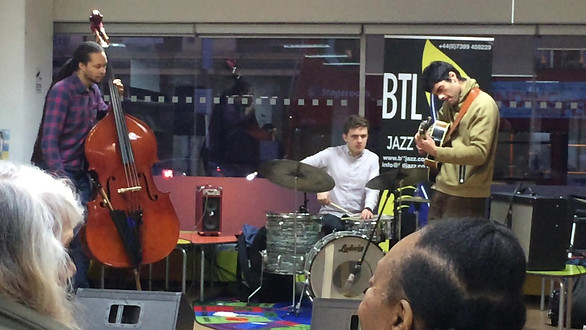 The Trio Plays Manor Park Library