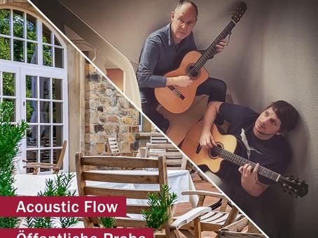 Acoustic Flow - Live - Samstag 11.07.2020 ab 20 Uhr
