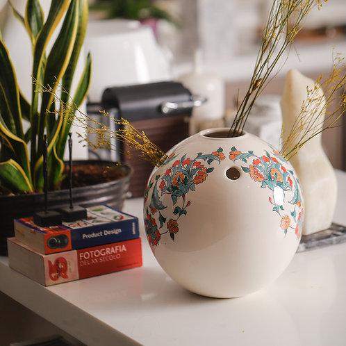 Round Floral Vase
