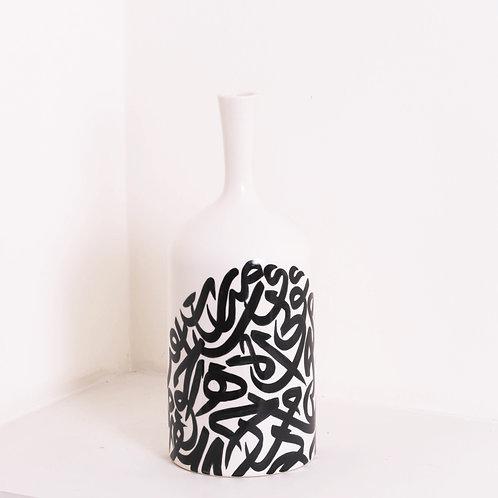 Large calligraphy vase
