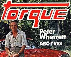 Peter Wherrret Torque Trophy SCRAWA
