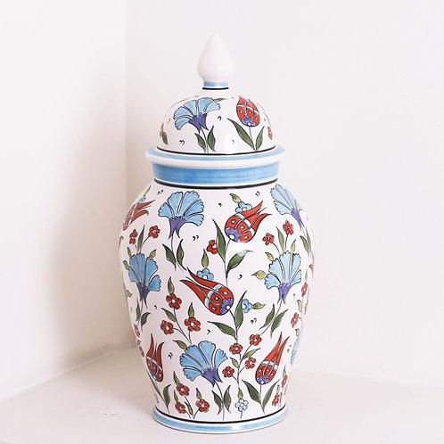 Medium Iznik Ginger Jar