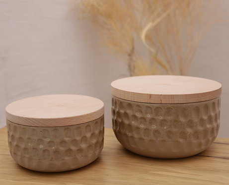Textured containers