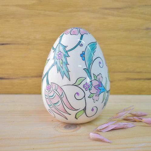 Large ceramic egg